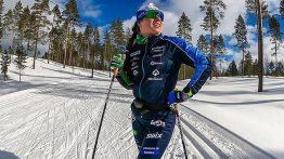 Krista Pärmäkoski paljasti huikean treenimääränsä.